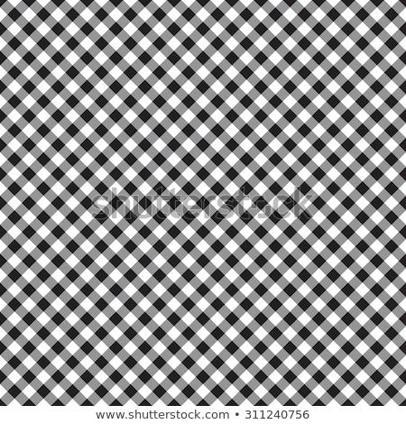 Scacchi tavola classica bianco nero illustrazione vettore Foto d'archivio © Olena