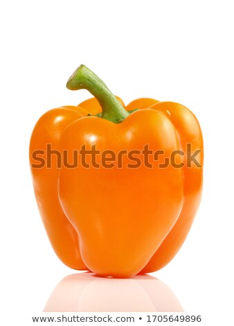 Sweet Orange Paprika Stock photo © 5xinc