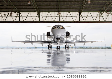 Business jet stock photo © tracer