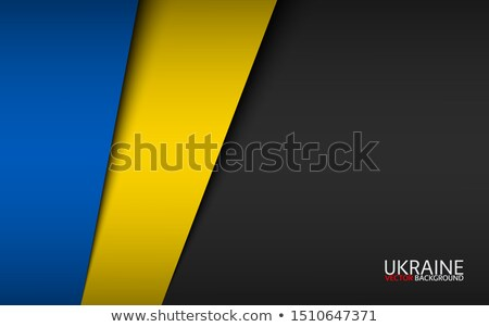 Украина флаг стране стандартный баннер фон Сток-фото © romvo