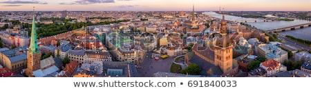 riga panorama stock photo © 5xinc