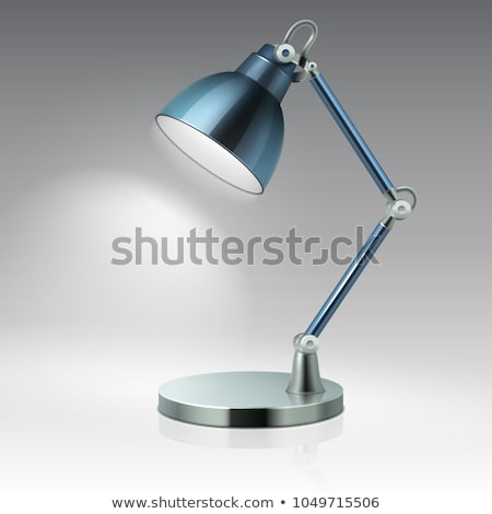 Interior Decor Adjustable Lamp Vector Illustration Stock photo © robuart