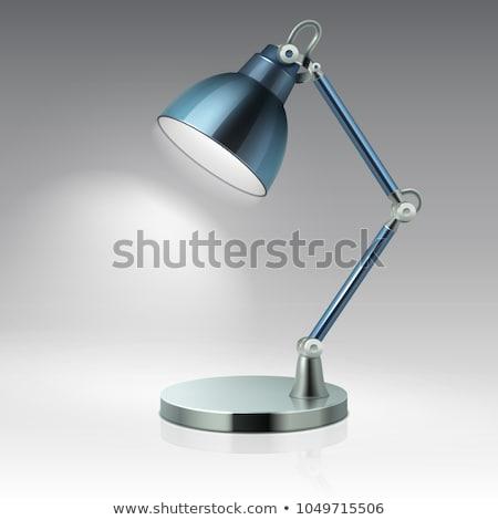 декоративный · фонарь · изолированный · белый · довольно · лампы - Сток-фото © robuart