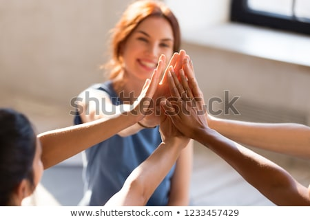 Diversity Sport Friendship Stock photo © Lightsource