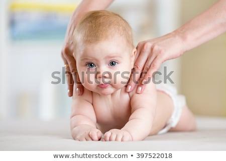 újszülött · fiú · terápia · nő · orvosi · gyógyszer - stock fotó © ruslanshramko