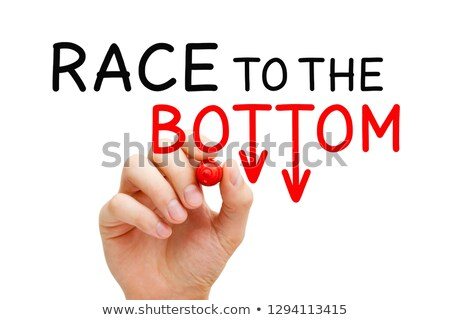 Race To The Bottom Price War Concept Stock photo © ivelin