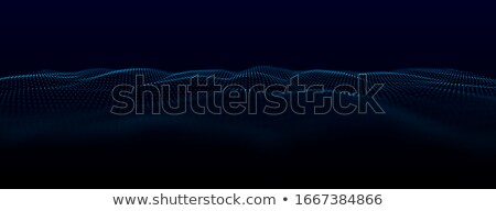 Music Background Vector. Equalizer Audio. Depth Space. 3D Illustration Stock photo © pikepicture
