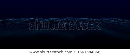 música · ola · azul · ecualizador · resumen · efecto - foto stock © pikepicture