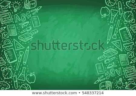 back to school game template stock photo © colematt