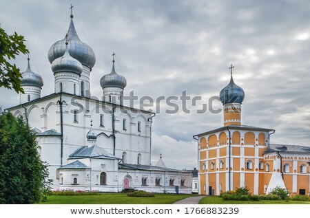 Salvatore Russia frazione nubi chiesa architettura Foto d'archivio © borisb17