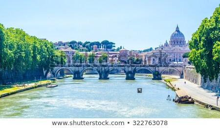 Ponte Sant'Angelo stock photo © borisb17
