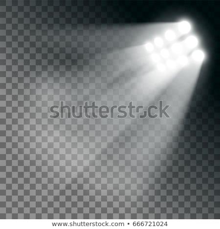サッカー スタジアム ランプ 1泊 ベクトル ストックフォト © pikepicture
