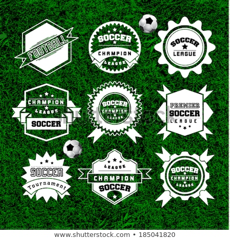 premier soccer or football tournament background design Stock photo © SArts