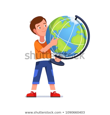 Pupil with globe Stock photo © photography33