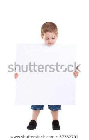 küçük · erkek · dışarı · üniforma · yalıtılmış · beyaz - stok fotoğraf © get4net