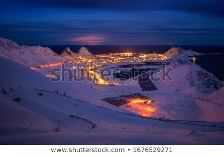 sorland on lofoten stock photo © harlekino