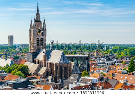 Голландии · мнение · архитектура · небе · воды · облака - Сток-фото © compuinfoto