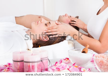 Young Woman At Spa Saloon Stock photo © AndreyPopov