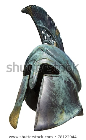 Ancient Metal Helmet Stock photo © cosma