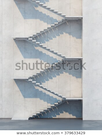 Stairs leading upwards Stock photo © Arrxxx