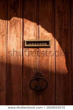 trancado · porta · grande · velho · trancar · brilhante - foto stock © ultrapro