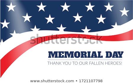 Patriottico stelle dettagliato illustrazione stilizzato Foto d'archivio © unkreatives