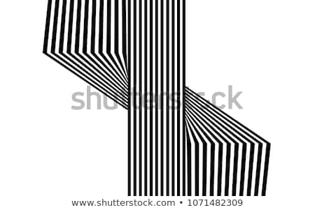 Abstract contrast vector background Stock photo © saicle