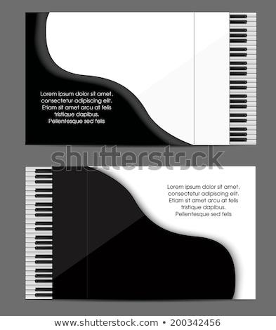Telefone fundo arte piano corporativo Foto stock © lindwa