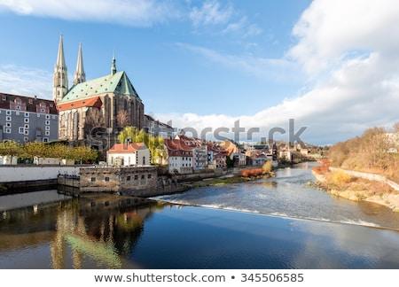 Stockfoto: Kerk · gebouw · architectuur · toren · Duitsland
