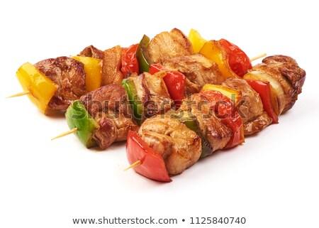 Quibe legumes alho tomates cereja comida almoço Foto stock © Digifoodstock