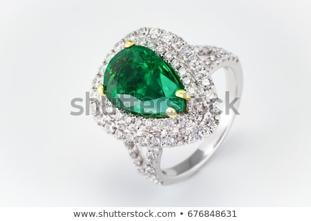 Ring With Emerald Stock photo © cosma