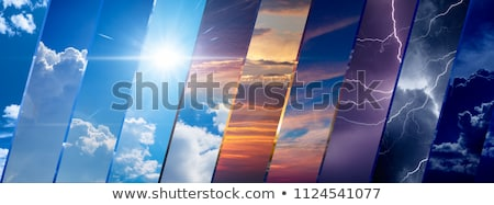 Different weather conditions Stock photo © bluering