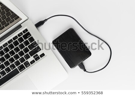 portable hard drive stock photo © magraphics