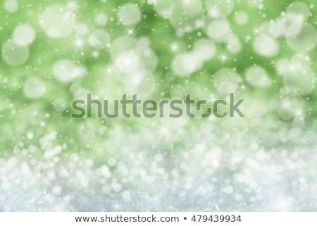Schneeflocken · Sternen · abstrakten · Schnee · Sterne · Lichter - stock foto © nelosa