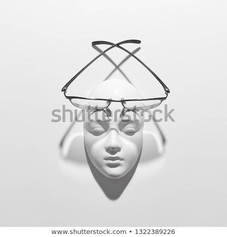 yeso · yeso · trabajador · bordo · fibra - foto stock © artjazz