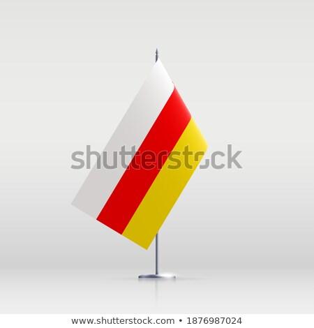 República sul bandeira secar terra terreno Foto stock © grafvision