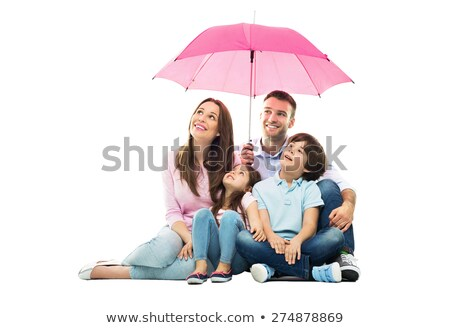Stock photo: Women family concept on isolated background