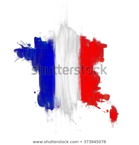 Сток-фото: Гранж · французский · флаг · старые · Vintage · гранж · текстур