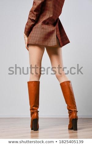 brown tights female Stock photo © RuslanOmega