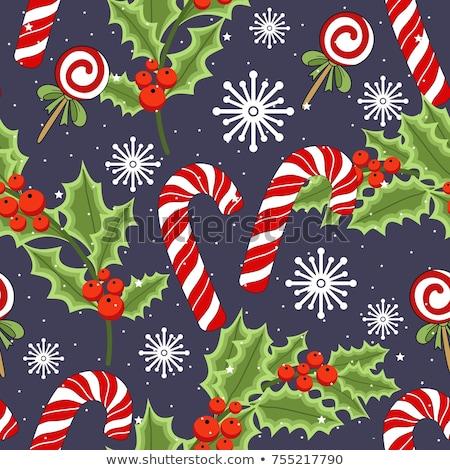 christmas · herten · sneeuwval · geïsoleerd · kerstmis · nieuwjaar - stockfoto © pilgrimartworks