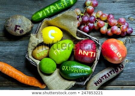 Source of skin nutrition stock photo © pressmaster