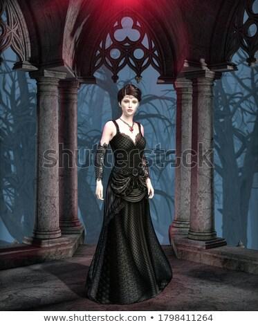 Female vampire Stock photo © sumners