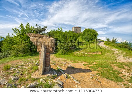Puin Castle, Liguria, Italy Stock photo © Antonio-S