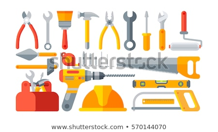 Laborer sawing Stock photo © photography33