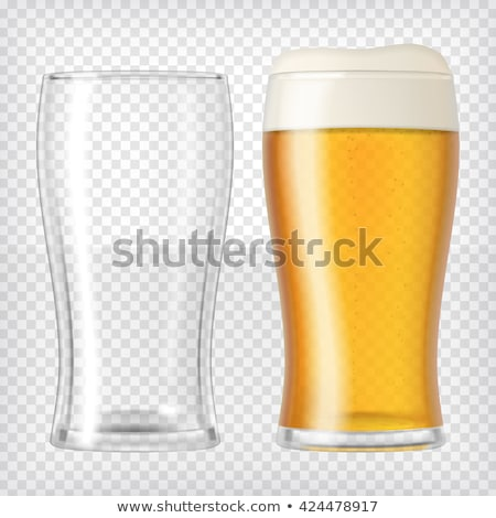 two tall glasses of beer stock photo © sumners