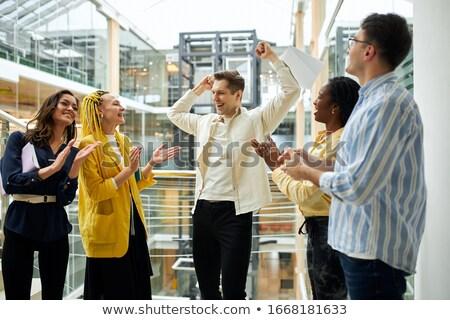 команда честолюбивый бизнеса профессионалов служба женщины Сток-фото © photography33