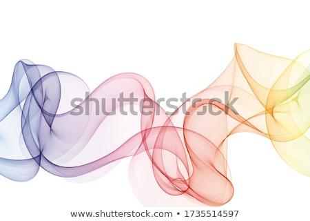 abstract wave smoke Stock photo © arcoss