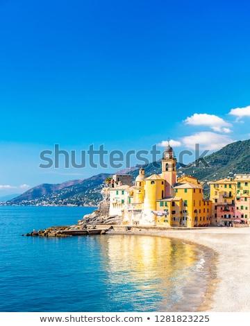 Manzara sahil İtalya su şehir doğa Stok fotoğraf © inaquim