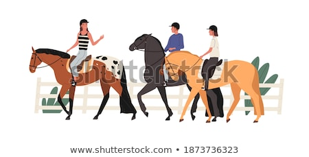 Horseriding Stock photo © Sportlibrary