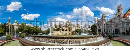 panoramic fountain Stock photo © vwalakte